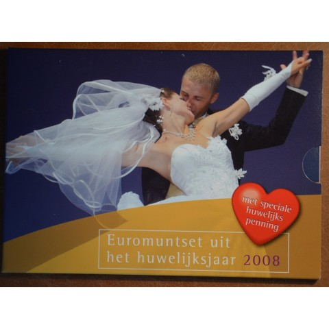 Set of 8 coins Netherlands 2008 Wedding set (BU)