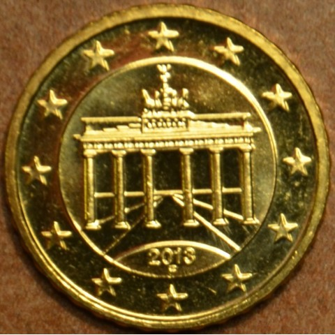 "10 cent Nemecko ""F"" 2013 (UNC)"