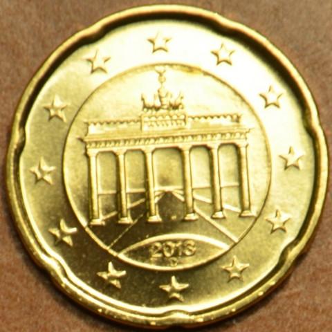 """20 cent Germany """"D"""" 2013 (UNC)"""