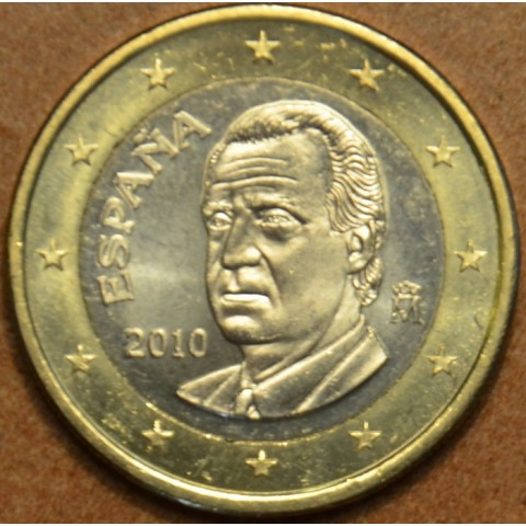 1 Euro Španielsko 2010 (UNC)