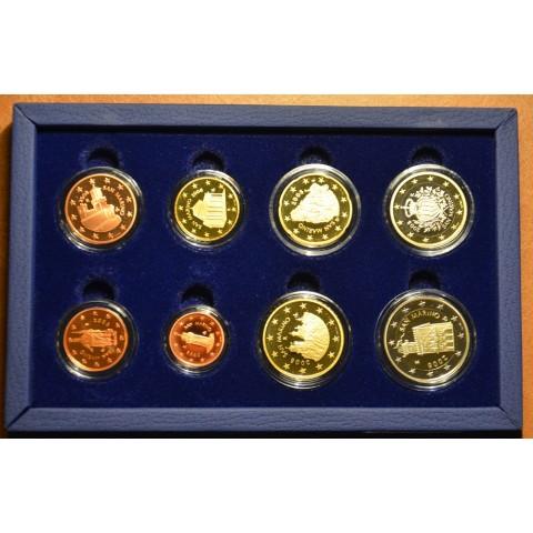 Sada 8 mincí San Marino 2008 (Proof)