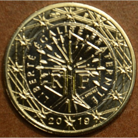 1 Euro Francúzsko 2019 (UNC)