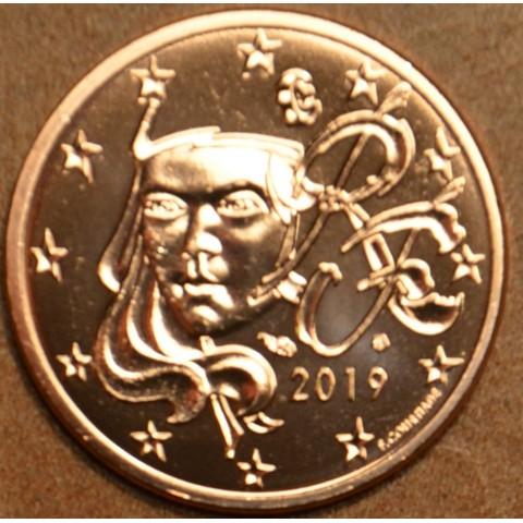 1 cent Francúzsko 2019 (UNC)