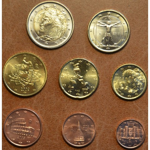 Set of 8 coins Italy 2009 (UNC)