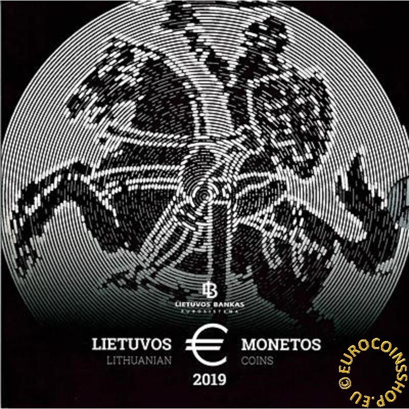 Sada 9 Litovských mincí 2019 (BU)