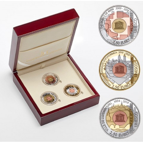 2,5 Euro Luxembourg 2019 Unesco (Proof)
