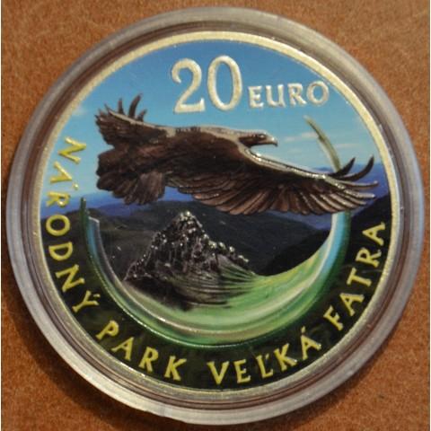 20 Euro Slovensko 2009 - Veľká Fatra (farebná BU)