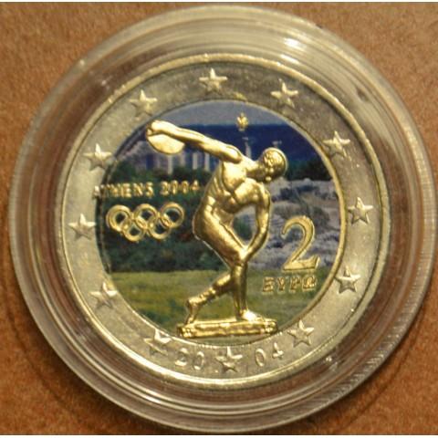 2 Euro Grécko 2004 - Olympijské hry v Aténach v roku 2004 IV. (farebná UNC)
