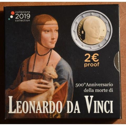 2 Euro Italy 2019 - Leonardo da Vinci (Proof)