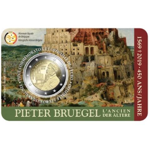 Presale 2 Euro Belgium 2019 -  Pieter Bruegel  (BU french side)