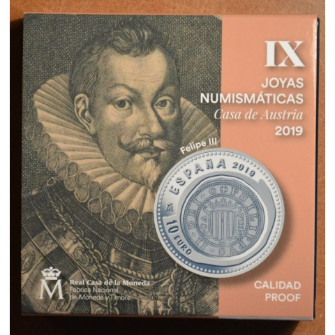 "10 Euro Spain 2019 - Joyas IX ""CASA AUSTRIA"" (Proof)"