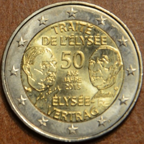 2 Euro France 2013 - 50 Years of the Élysée Treaty (UNC)