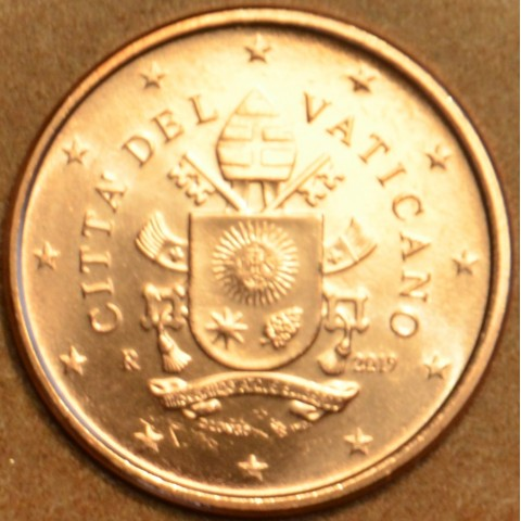 1 cent Vatican 2019 (BU)