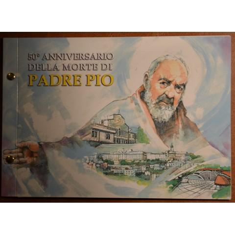 2 Euro Vatican 2018 Numisbrief - Padre Pio (BU)