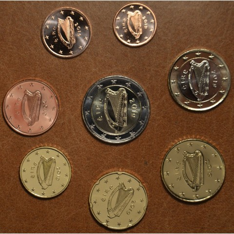 Set of 8 coins Ireland 2019 (UNC)
