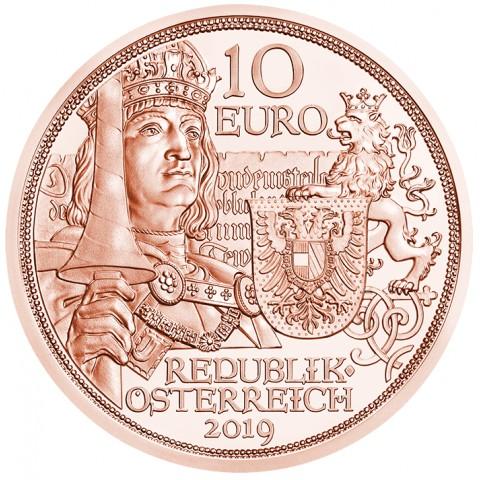 10 Euro Austria 2019 -  Knights' Tales (UNC)