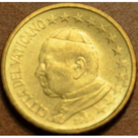 50 cent Vatican His Holiness Pope John Paul II 2005 (BU)