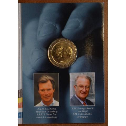 2 Euro Belgium 2005 - Belgium-Luxembourg Economic Union (BU card)