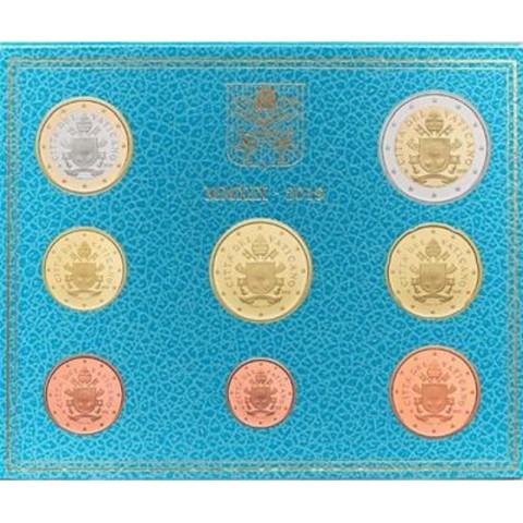 Set of 8 eurocoins Vatican 2019  (BU)