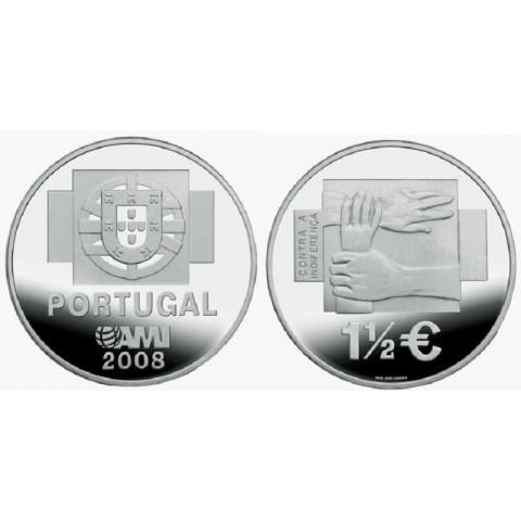 1,50 Euro Portugal 2008 - AMI (UNC)