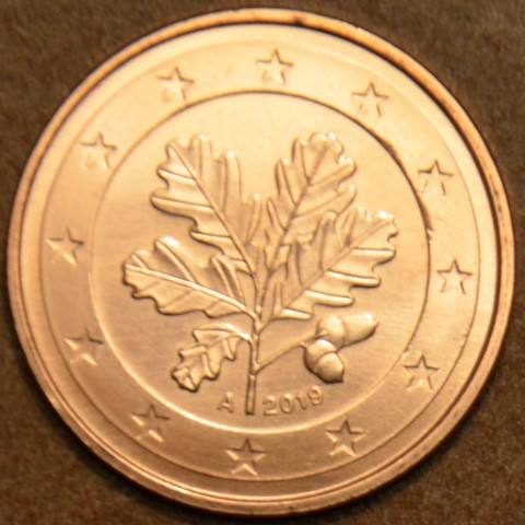 """1 cent Germany """"A"""" 2019 (UNC)"""