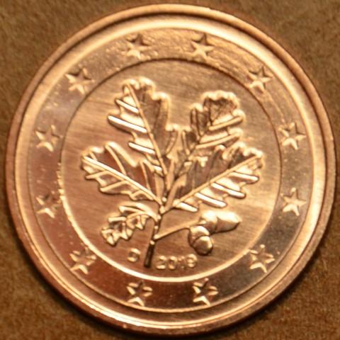 """1 cent Germany """"D"""" 2019 (UNC)"""