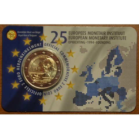 2 Euro Belgium 2019 -  25 years of European Monetary Institute (BU - Dutch side)