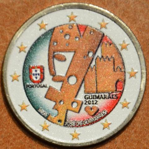 2 Euro Portugal 2012 - Guimarães - Capital Europeia da Cultura IV. (colored UNC)