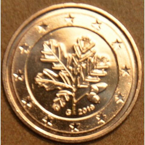 """1 cent Germany """"G"""" 2019 (UNC)"""