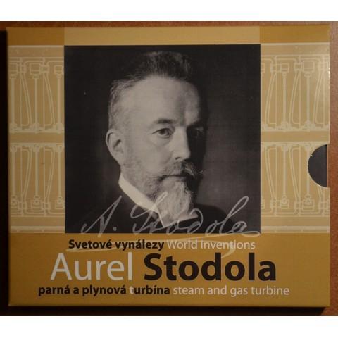 Set of 8 Slovak coins 2019 Aurel Stodola (BU)