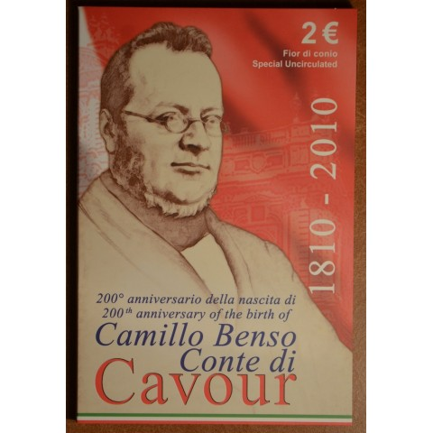 2 Euro Italy 2010 - 200th anniversary of birth of Camillo Benso (BU)