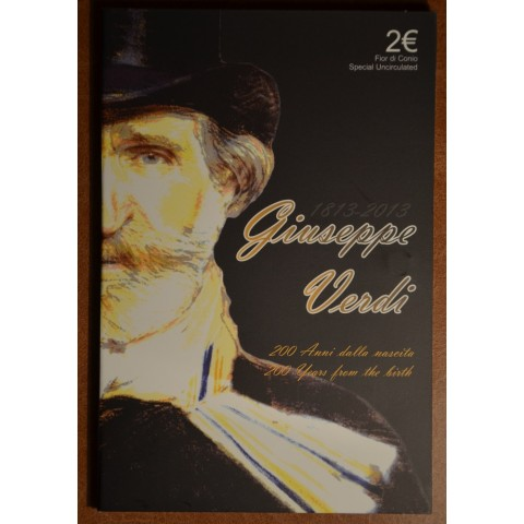 2 Euro Italy 2013 - 200th Anniversary of the Birth of Giuseppe Verdi (BU)