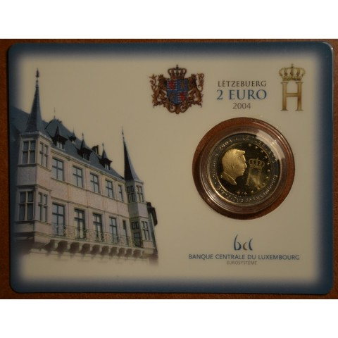 2 Euro Luxembourg 2004 - Effigy and monogram of Grand-Duke Henri (BU)