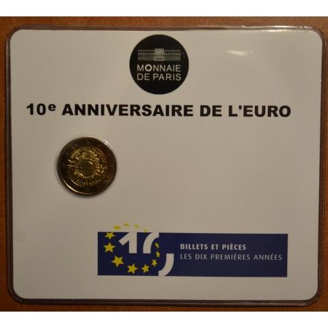 2 Euro France 2012 - Ten years of Euro  (BU card)