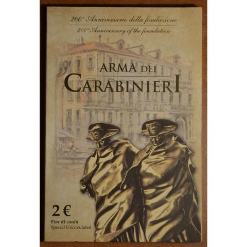 2 Euro Italy 2014 - 200 years of Carabinieri (BU card)