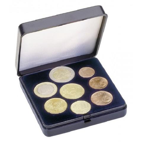 Lindner plastová kazeta na sadu euromincí