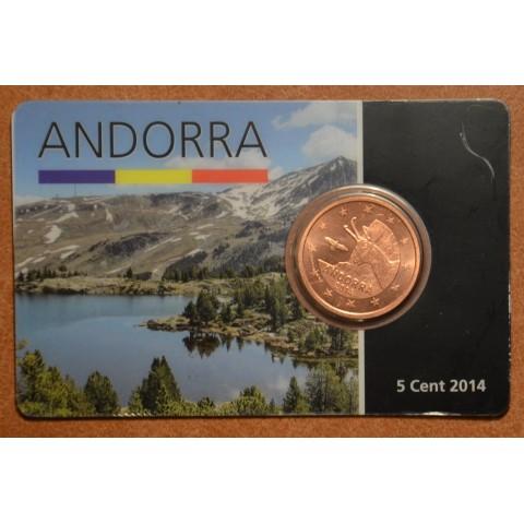 5 cent Andorra 2014 (UNC)