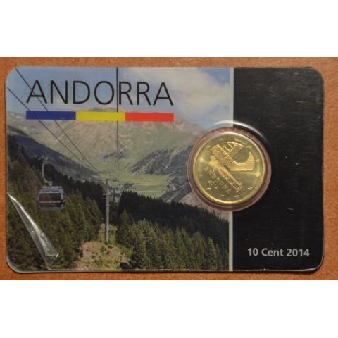10 cent Andorra 2014 (UNC)