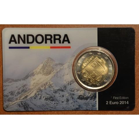 2 Euro Andorra 2014 (UNC)
