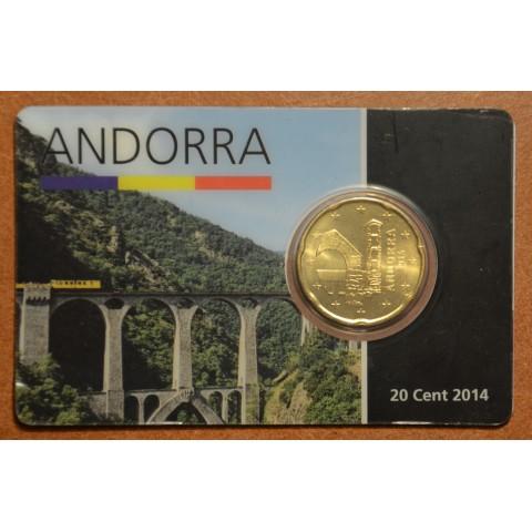 20 cent Andorra 2014 (UNC)