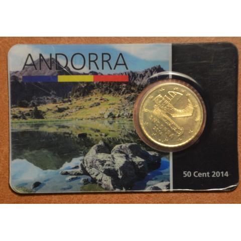 50 cent Andorra 2014 (UNC)