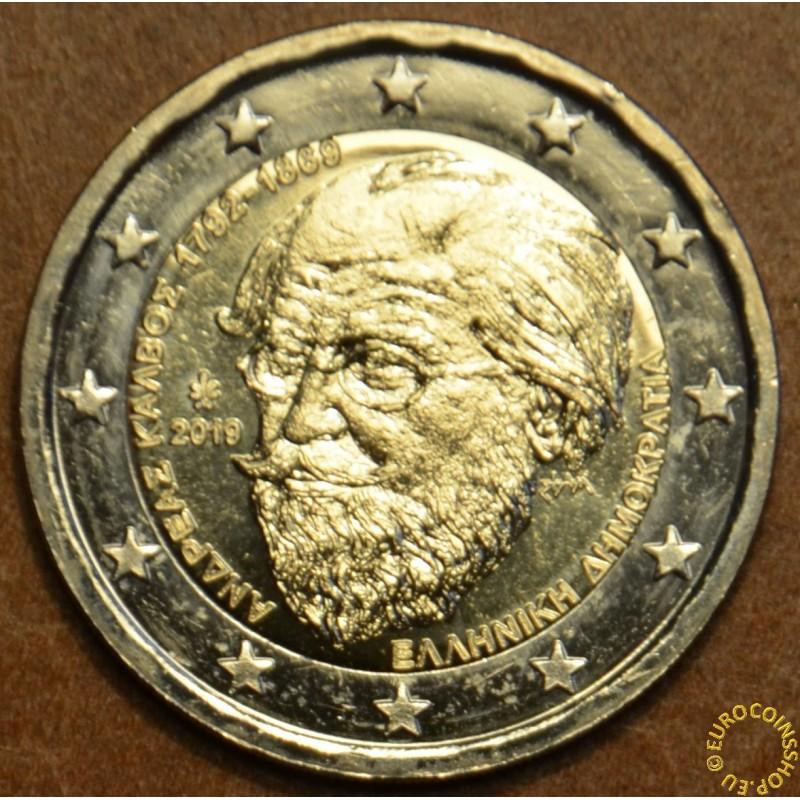 Greece 2 Euro coin 2019 A.Kalvos//UNC!!!