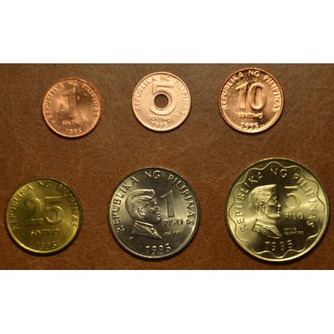 Philippines 6 coins 1995-1998 (UNC)