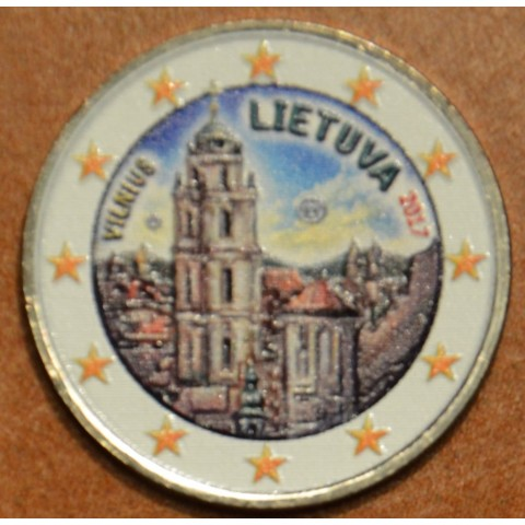 2 Euro Lithuania 2017 - Vilnius III. (colored UNC)