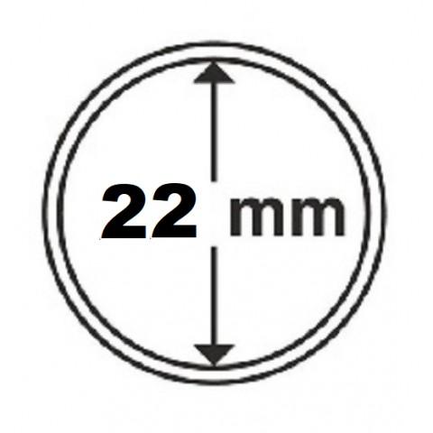 Leuchtturm capsula 22 mm