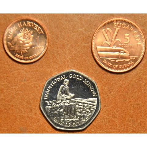 Guyana 3 coins 2007-2008 (UNC)