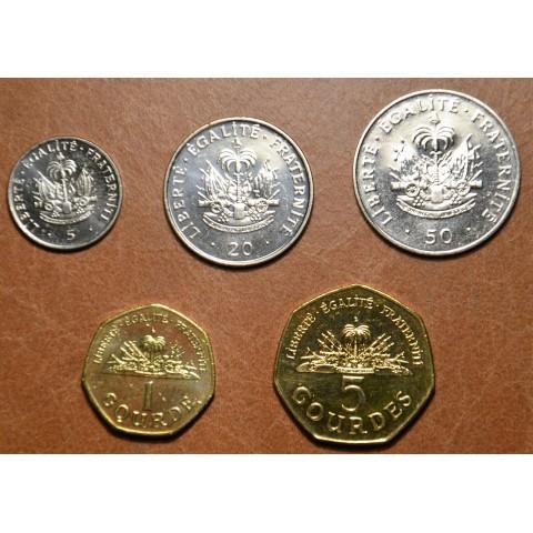Haiti 5 coins 1995-2011 (UNC)