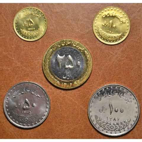 Iran 5 coins (UNC)