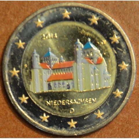 "2 Euro Germany ""F"" 2014 - St. Michael church - Niedersachsen II. (colored UNC)"