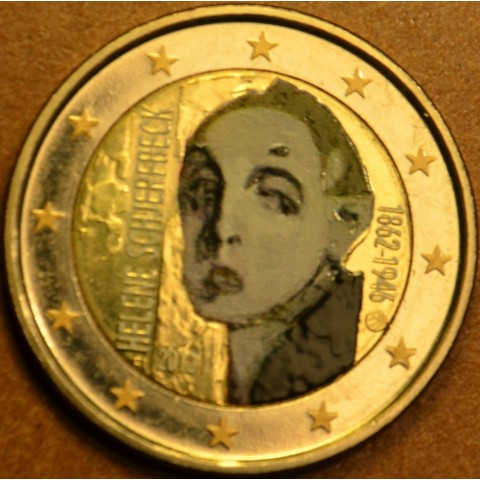 2 Euro Finland 2012 - 150th Anniversary of the Birth of Helene Schjerfbeck (colored UNC)